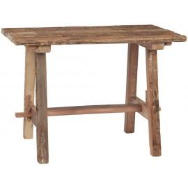 petite table rustique campagne bois de recuperation recycle ib laursen