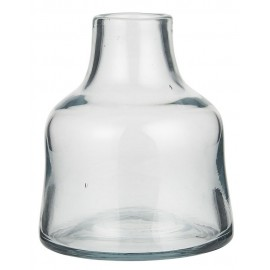 petit vase verre epais transparent  ib laursen