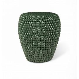 pols potten dot vert tabouret bout de canape design chic metal