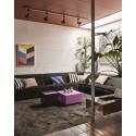 hk living strokes peinture tableau multicolore cadre bois