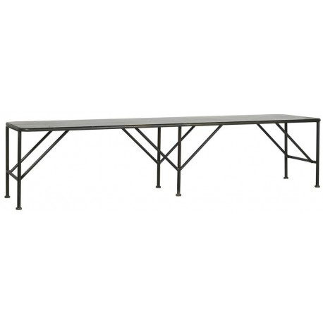 banc long 2 m metal industriel ib laursen