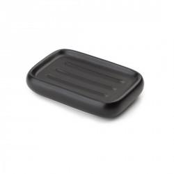 Porte savon noir céramique umbra kona