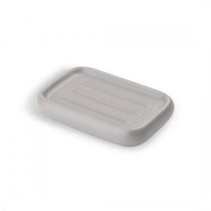 porte-savon-design-ceramique-taupe-umbra-kona