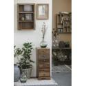 commode 6 tiroirs bois recycle style vintage ib laursen unique