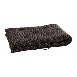 matelas gaddiposh noir tissu indien madam stoltz 70 x 180 cm