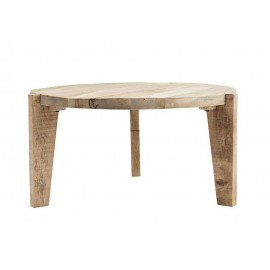 Table basse ronde bois manguier House Doctor Bali