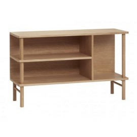 commode ouvete chene style scandinave hubsch