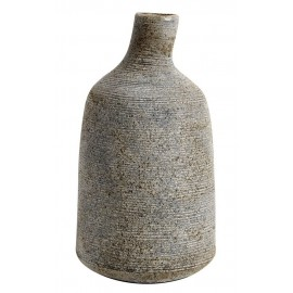muubs stain vase gris artisanal design terre cuite