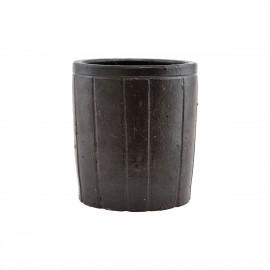 Cache-pot argile brun design House Doctor Julian L