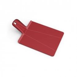 Planche à découper pliable joseph joseph chop2pot rouge
