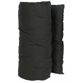 ib laursen matelas de transat toile de coton noir