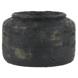 Cache-pot artisanal style antique IB Laursen Akropolis