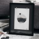 house doctor seoan tableau illustration noir et blanc
