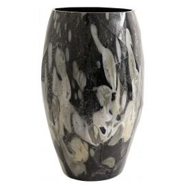 nordal wave vase avec eclats de verre mosaique