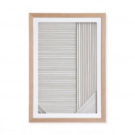 hk living tableau deco art moderne papier