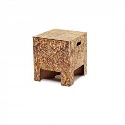 Tabouret design carton botte de paille dutch design chair