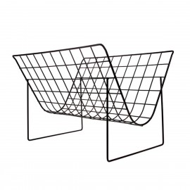 hk living porte revues epure design metal filaire noir
