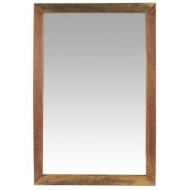 ib laursen miroir mural bois recyclé rectangulaire