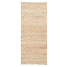 house doctor mara tapis long jute beige 100 x 240 cm