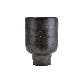 cache pot contemporain argile brun house doctor artist