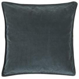 housse de coussin velours carre bleu roi ib laursen 50 x 50 cm