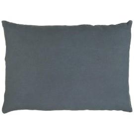 housse de coussin rectangulaire lin bleu roi 50 x 70 cm ib laursen