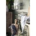 3 petites etageres murales metal filaire style campagne ib laursen