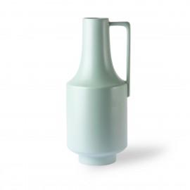 Vase haut céramique avec poignée HK Living vert