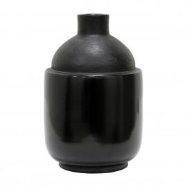 hk living chulucanas vase gres noir