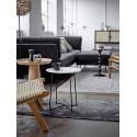 Table bout de canapé design rond bois Bloomingville Luana