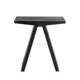 muubs angle tabouret design epure style japonais bois noir