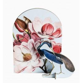 decoration sculpture romantique en carton studio roof oiseau bleu