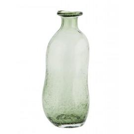 madam stoltz vase souffle deforme verre vert