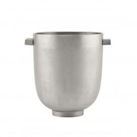 house doctor foem cache pot design industriel aluminium brut