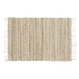 petit tapis chanvre naturel 60 x 90 cm nordal ava