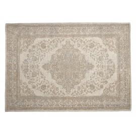 grand tapis persan oriental coton beige 200 x 290 cm nordal pearl