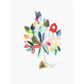 dream tree studio roof arbre decoratif sculpture en carton
