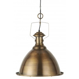 grande suspension industrielle metal dore laiton ib laursen new york