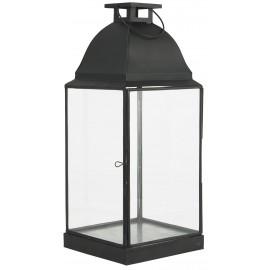 grande lanterne vintage metal noir ib laursen