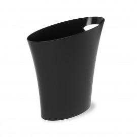 umbra skinny corbeille a papier design plastique noir