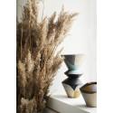 vase graphique terre cuite multicolore madam stoltz
