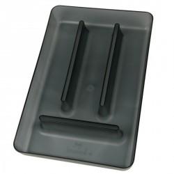 Range couverts pour tiroir gris koziol rio