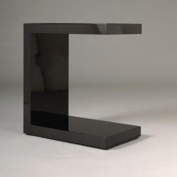 TABLE D'APPOINT DESIGN KC noir