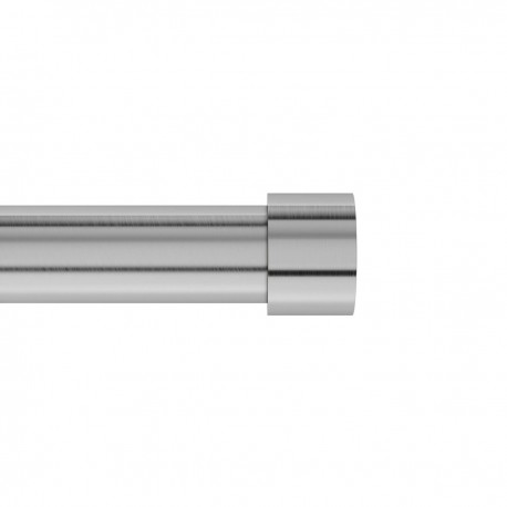 tringle a rideaux simple extensible design acier brosse umbra cappa