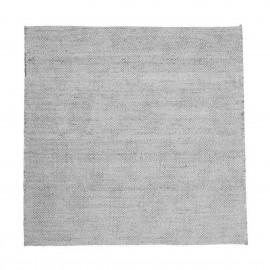 house doctor mara tapis carre jute gris 180 x 180 cm
