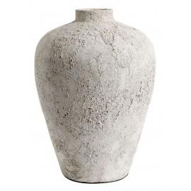muubs luna jarre vase terre cuite surface lunaire gris