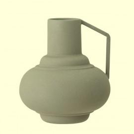 bloomingville vase metal vert