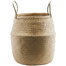 house doctor tanger grand panier jonc de mer tresse naturel