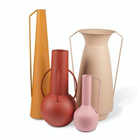 pols potten roman vases sunset