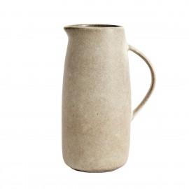 muubs pichet style camapgne rustique ceramique beige